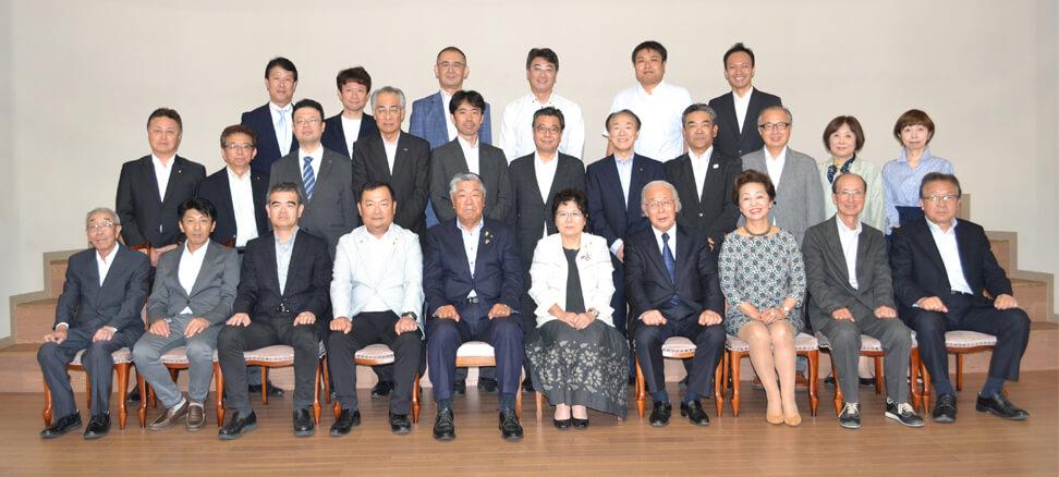 画像:秋田北ロータリークラブの集合写真