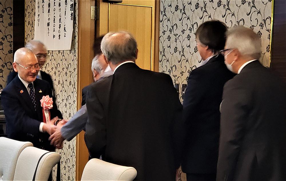 ガバナー公式訪問レポート #33 秋田西RC 10/13